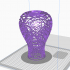 Korean traditional vase_Dancheong pattern (Multi color) image