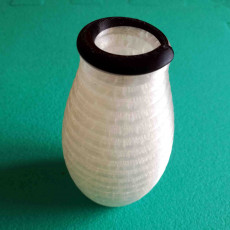 Picture of print of Printception Small Vase
