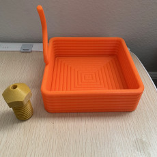 Picture of print of Printception Square Container