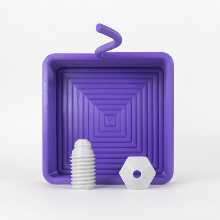 Printception Square Container
