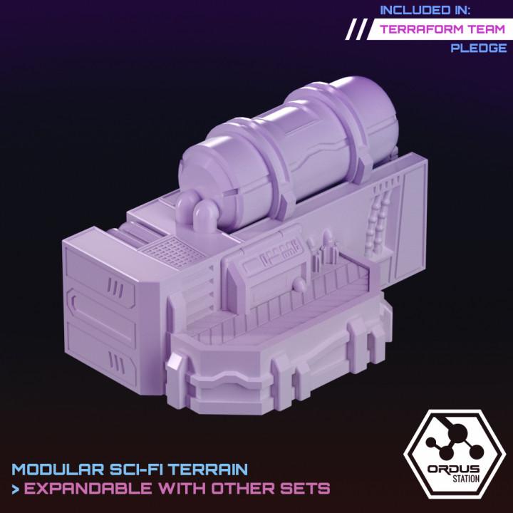 Ordus Station - Liquid Storage's Cover