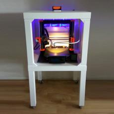 Ventilated Ikea LACK 3D Printer Enclosure