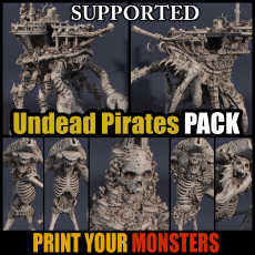 UNDEAD PIRATES PACK