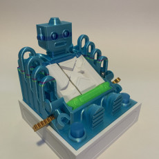 Picture of print of Robo-Revolution Marble Run