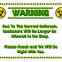 Plague Plaque - a COVID-19 Quarantine Sign image