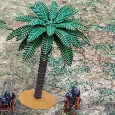 28mm Modular Palm Trees - Pack B