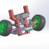 The front axle of the Buggy car image