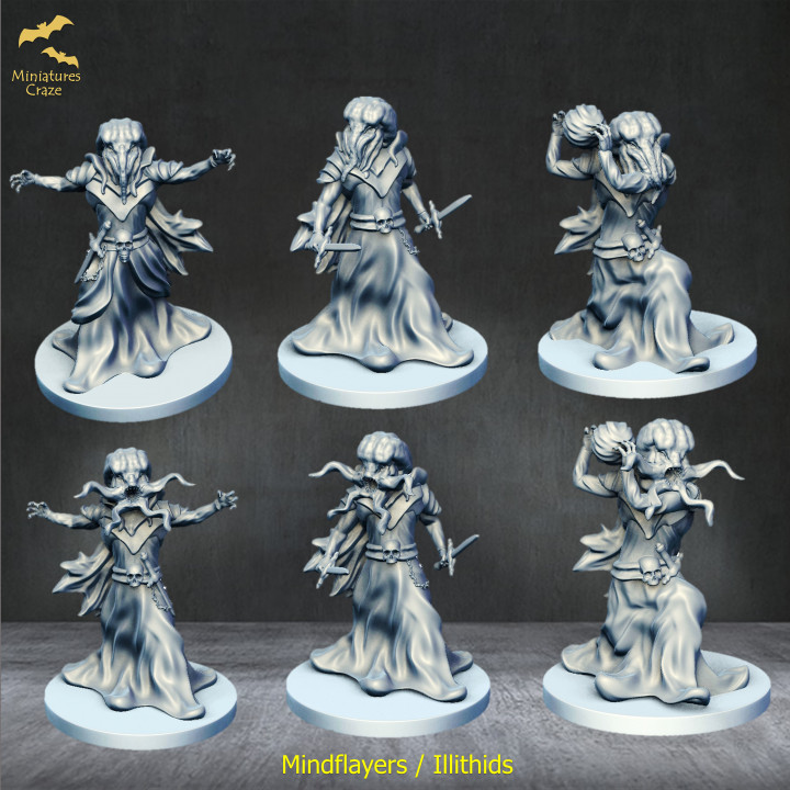 Mindflayers / Illithids's Cover