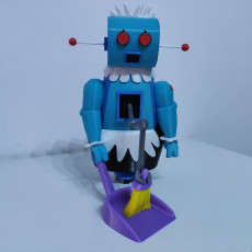 Picture of print of Rosie the Robot