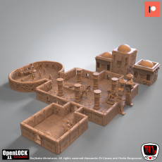 Temple of the broken spires  OpenLOCK compatible dungeon