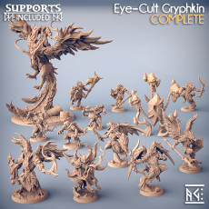 COMPLETE Eye-Cult Gryphkin (Presupported)