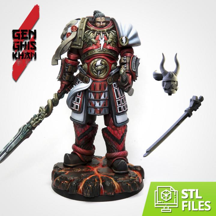 Genghis Khan (75mm Scale)