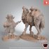 Baquir the merchant and Shihab the camel (Presupported) image