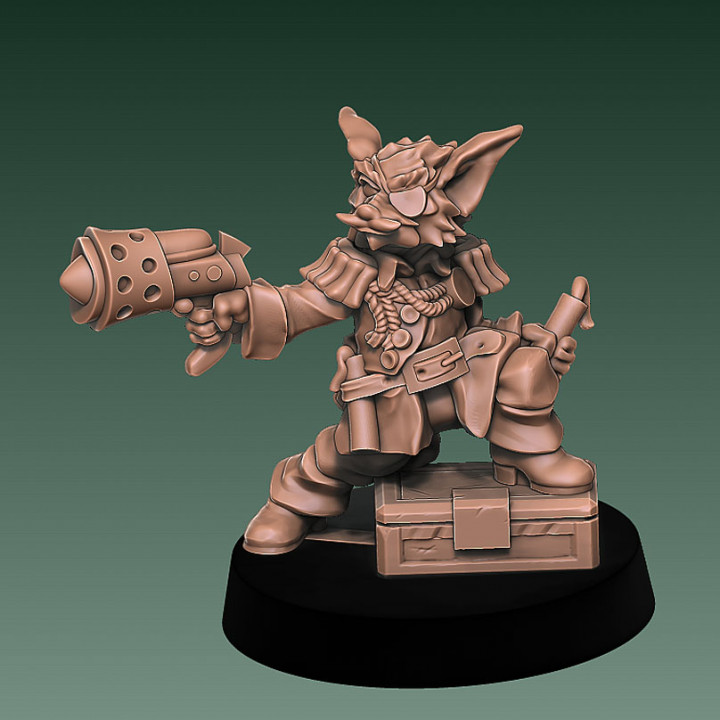 Krepis Nex - Space Pirate Furry Bounty hunter