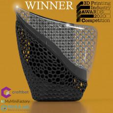 3DPI Awards Trophy 2020 - 2-Way Lattice