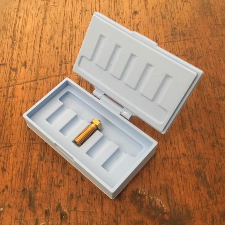 Volcano Nozzle Storage Box