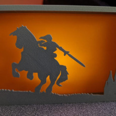 Picture of print of Zelda silhouette ornaments