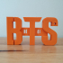 BTS earphone earbud holder image