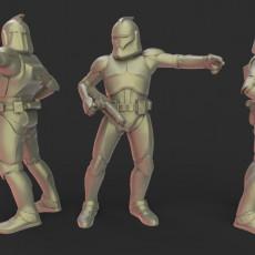 Star wars legion Phase 1 clone