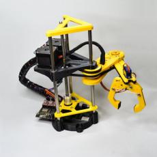 Arduino Robotic Arm (OPEN SOURCE) + Python control APP + EXTRAS