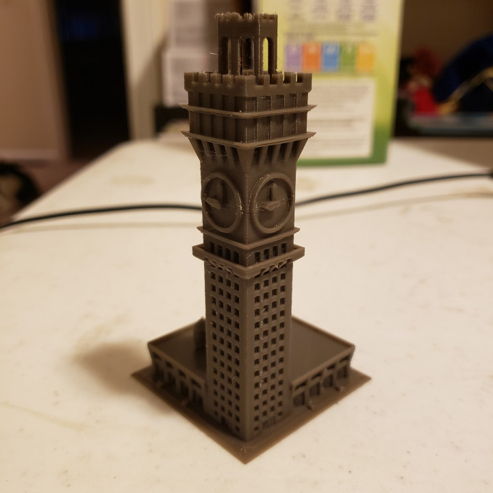 Bromo Seltzer Tower for Small Scale Wargames