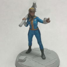 Picture of print of Vault-Tec Vault Girl - Fallout: Wasteland Warfare