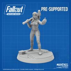 Vault-Tec Vault Girl - Fallout: Wasteland Warfare