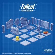 Fallout: Wasteland Warfare - 3D Vault-Tec Vault