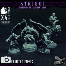 Vampire Strigoi - Pre-Supported