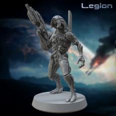 Legion (Geth) 32mm Pre-supported