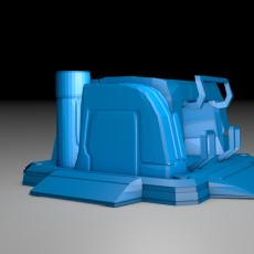 starcraft 2 supply depot 3d model
