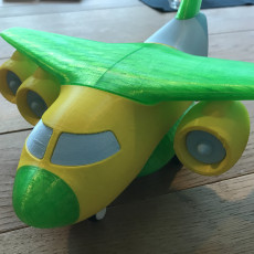 Picture of print of Transport Aircraft Toy Puzzle