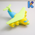 Transport Aircraft Toy Puzzle image
