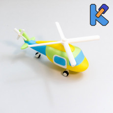 Helicopter Toy Puzzle