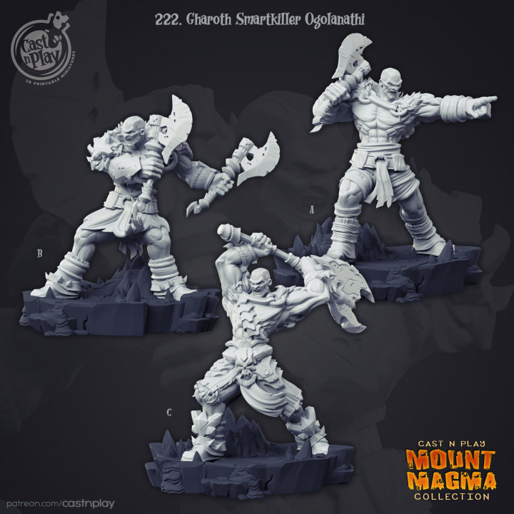 Gharoth Smartkiller Ogolanathi (Pre-Supported)