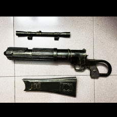 Picture of print of Boba Fett blaster EE 3 - Carbine Rifle -  STAR WARS - CLONE TROOPER - PROP GUN