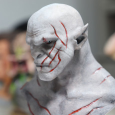 Picture of print of Azog the Defiler Bust