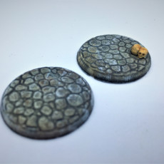 25mm cobblestone bases for tabletop wargaming like dnd