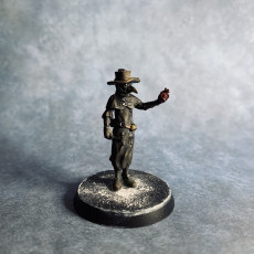 Picture of print of Not so heartless plague doctor