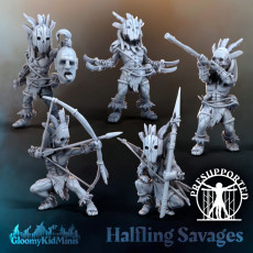 Halfling Savages
