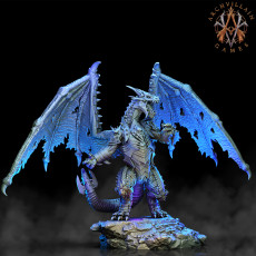 Erevos the Death Dragon (Standing Pose)