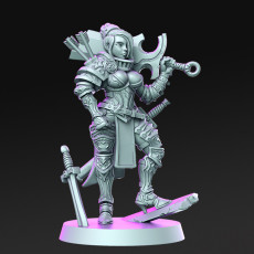Rose - Female Soldier - 32mm - DnD -
