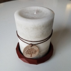 Candle Base (Low Poly)