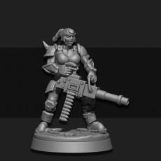Female Orc Veteran 04