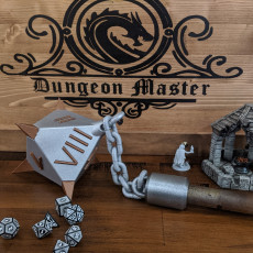 The Dice Damage Weapon D8 Flail