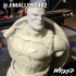 Wicked Marvel Avengers Captain America 3d Bust: STL ready for printing FREE image
