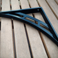 Concentric Arcs Shelf Bracket 200mm x 200mm