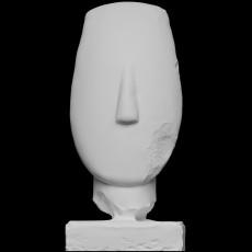 Head of a Female Figurine