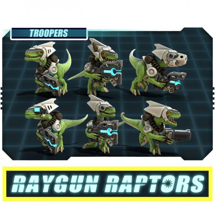 Raygun Raptors Complete Kickstarter Set