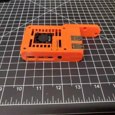 Raspberry Pi4 case for Prusa MK3 - Remix